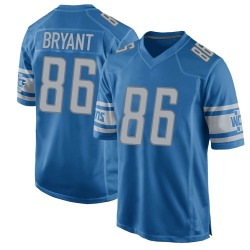 Nike Hunter Bryant Detroit Lions Youth Game Blue Team Color Jersey