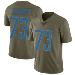 Nike Jonah Jackson Detroit Lions Youth Limited Green 2017 Salute to Service Jersey